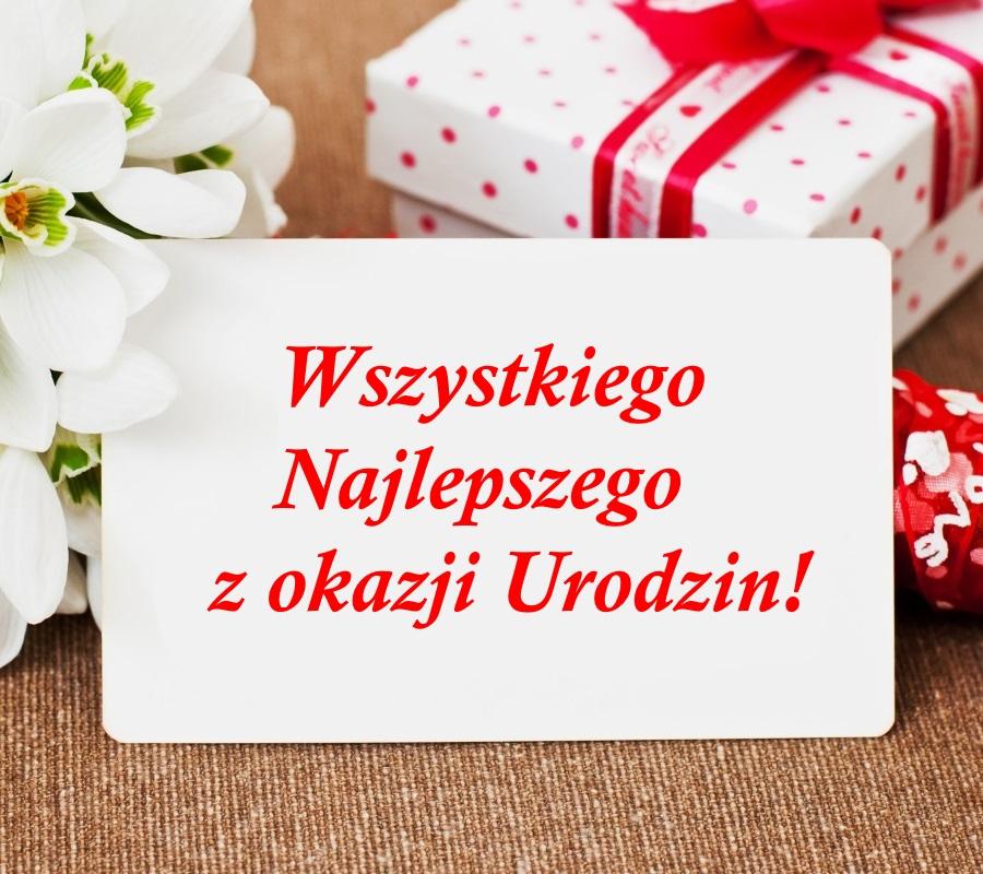 Geburtstagswünsche auf Polnisch