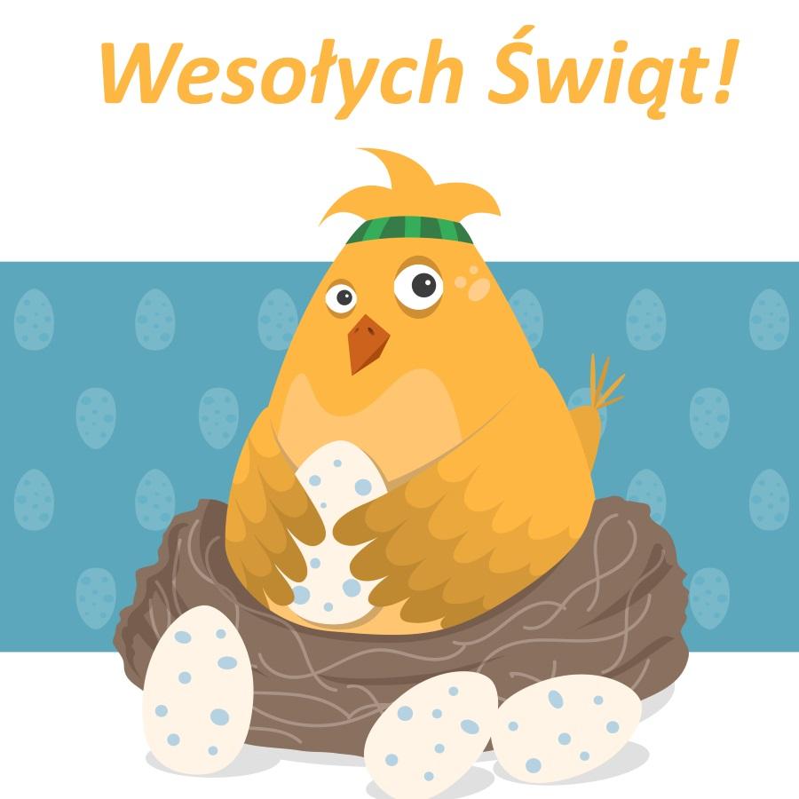Ostergrüßeauf Polnisch
